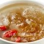讓你很順暢的桃膠、皂角米、素燕窩的雪燕、龍眼、天然冰糖的植物膠質大集合-吃好得溫養膠顏燉盅(冷凍熟食/純素食)-我的粉紅小湯點  400g(1人份)
