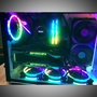 公版 1080兩張 sli nvidia 橋接器  3600x rog x470-f 1070 2080ti titan