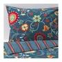 紅花紅生活精品   ROSENRIPS雙人被套組, 藍色 具圖案,200x200/50x80 公分
