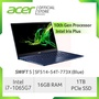 Acer Swift 5 SF514-54T-773X(Blue) NEW Thin and light laptop with LATEST 10 Gen Intel i7-1065G7