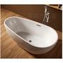 [新時代衛浴] 140cm蛋型獨立浴缸,薄邊內空間大,蛋型舒適好躺140/150/170cm XYK181