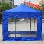 4面透明圍布廣告帳篷印字戶外四腳折疊遮陽棚伸縮雨棚四角擺攤傘