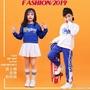 ✤△✙新款兒童運動會表演服男女童啦啦隊服裝幼兒秋季長袖啦啦隊演出服