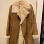 真皮皮毛一體超保暖羊毛皮衣大衣