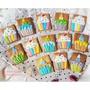 聖誕樹-杯子蛋糕糖霜餅乾(幼稚園生日慶生禮.彌月.交換禮物.婚禮小物.婚禮佈置.派對野餐點心.活動禮物)