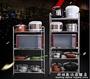 廚房置物架落地多層不銹鋼3層微波爐架子三層烤箱收納儲物架鍋架 WD科炫數位