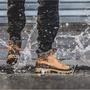 帝安諾-實體店面 PALLADIUM PAMPA SC OUTSIDER WP+防水皮革軍靴(土黃)76472-717