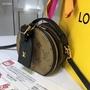 實物拍攝 路易威登 LV圓餅包 Mini Boite Chapeaux 手袋M44699/M68276