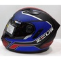 ZEUS安全帽  ZS-813 (AN12)-消光黑紅藍《 內墨片》全新出清
