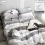 【iHOMI】100%精梳純棉床包被套/鋪棉兩用被組- 相約賽西爾 台灣製