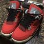 售7成新 Jordan 4代 紅牛女鞋