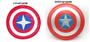 萬聖節面具/美國隊長服裝配件/美國隊長盾牌/安全盾牌