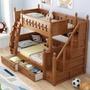 「免運免安裝」圓圈高級橡膠木 全實木 雙人 5尺 單人加大 上下舖 雙層床 子母床(小蘋果家具)1932