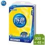 得意  平版衛生紙  300張  箱購 新柔韌 抽取式 衛生紙 舒潔 春風 五月花 蓬厚柔
