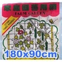 【全館790免運】家庭園藝用網-爬藤網(1.8x0.9M)攀藤網-