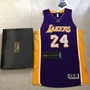 波波愛球衣 - Kobe Bryant ,真網眼球衣,紫色簽名款,絕版,含證書盒子