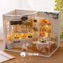 現貨 DIY小屋 蛋糕店 蛋糕日記 袖珍屋 娃娃屋 手工藝 設計模型 室內設計 模型屋 材料包 玩具娃娃屋 含燈