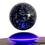 懸浮擺件 天嶼6寸星座磁懸浮地球儀擺件發光自轉創意工藝品【美物居家館】