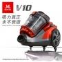 【美安獨家】Mdovia 第十六代Dual V10雙層雙錐 吸力永不衰退吸塵器(紅)