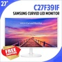 SAMSUNG Curved Monitor C27F391F / Eyes-Comfortable Samsung Curved Monitor / 68.6