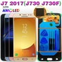 AMOLED Original Display For SAMSUNG Galaxy J7 Pro LCD Display Touch Screen J730 J730F for SAMSUNG J7 Pro LCD Screen Replacement