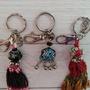 原住民琉璃珠鑰匙圈