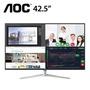 【43型】AOC U4308V  4K IPS廣色域液晶顯示器/4K/IPS/HDMI/DP/內建喇叭