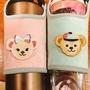 可愛環保杯套(馬卡龍達菲和雪莉玫)