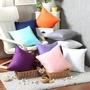 100%全棉純色靠枕套抱枕套素色簡約時尚感家居必備(45*45CM)(55*55CM)(65*65CM)