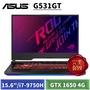 [送ROG 證件套+USB便攜風扇] ASUS G531GT-G-0031C9750H (15.6