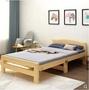 折疊床 折疊床單人床家用成人經濟型1.2米小床午睡床雙人實木間 艾家生活館 LX