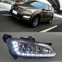 現代 汽車日間行車燈 新勝達 Hyundai IX45 Santa Fe 13-14年 單色LED晝行燈 日行燈 車燈
