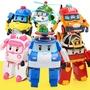 救援小英雄 POLI 機器人變形戰隊 四款一組 變形 玩具 (A014) DINISHOP 滿百才出貨