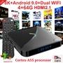 2020最新A95X F3 晶晨S905X3 安卓9 支援8K 4G/64G USB3.0 雙頻WiFi+藍芽 電視盒