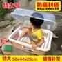 特大塑料碗柜翻蓋廚房瀝水碗架 家庭碗盤置物架 餐具收納放碗箱