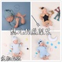 嬰兒拍照衣服照相道具寶寶滿月百天攝影服