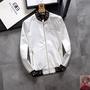 范思哲風衣正品 Versace/範思哲男士休閑夾克外套 凡賽斯棒球服夾克 運動外套 防風外套 機車服 M-3XL教練外套