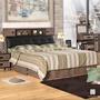 【Hampton 漢妮】辛克萊系列5尺被櫥式雙人床組(雙人床/床組/床/床底/床頭/床頭箱/雙人床頭箱/頭枕式床頭箱)