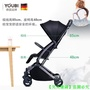 【新品免運】德國youbi嬰兒手推車輕便折疊可坐可躺超輕小便攜式兒童寶寶傘車