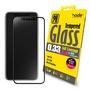【買一送一】【hoda官方賣場】 iPhone X/Xs 5.8吋 2.5D高透光滿版鋼化玻璃保護貼0.33mm