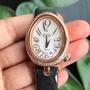 (陳淑芬手作)80分天然真鑽HOGA機械錶。瑞士原廠。全新。正常行走中。天然藍寶石龍頭。原價79800元。