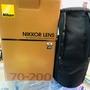 極新品 Nikon 70-200/2.8vr 小黑六