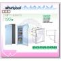【易力購】Whirlpool 惠而浦冷凍櫃直立式 WIF1193W 白 / WIF1193G鈦金鋼《193公升》全省安裝