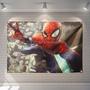可定制漫威蜘蛛俠電影主題房間宿舍寢室背景牆改造裝飾牆面掛布