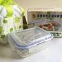 鍋寶 耐熱玻璃保鮮盒 提袋組 保溫保冷 660ml 耐熱400度 可微波/烤箱 BVC-660-G(股東會紀念品)