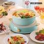 【再贈不沾鍋2支】日本Iris Ohyama ricopa IH料理電磁爐組(含陶瓷鍋)象牙白