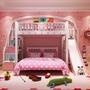 [免運費免安裝費] 粉天使青年高架床 120 135 梯櫃 爬梯 書桌 衣櫃 床架組合床
