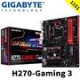 『3c哩哩摳摳』 技嘉 H270-Gaming 3 (ATX)  主機板 全新品