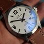 全新!機械錶.瑞士製造 ETA2824機芯 GLYCINE 冠星.軍錶