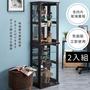 【TakaYa】2入加大版80cm玻璃模型公仔展示櫃(展示櫃/收藏櫃/含4片玻璃層板)